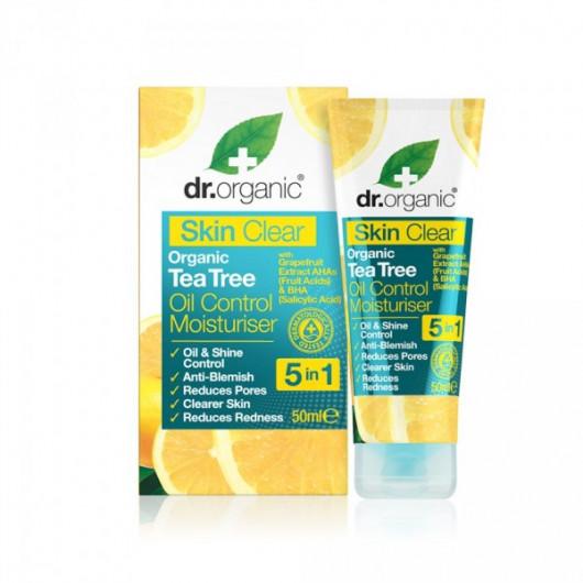 Crema Idratante Purificante Skin Clear Dr. Organic Tea Tree-2967-30
