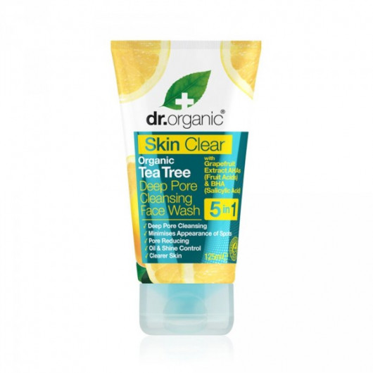 Detergente Viso Skin Clear Dr. Organic Tea Tree-2969-30