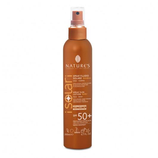 Solare Spray Fluido Viso-Corpo Bambini 50+-3607-30