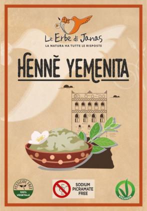 HENNÈ YEMENITA ROSSO CALDO
